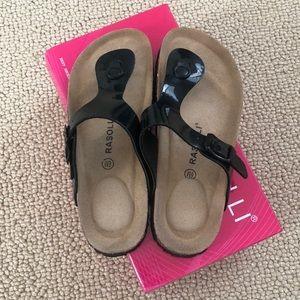 Rasolli thong sandals